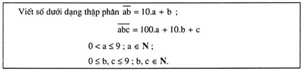 phương pháp giải dạng toán liên quan đến chữ số